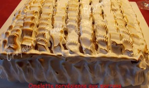 Omelette norvégienne aux marrons