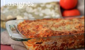Les lasagnes de mon papa