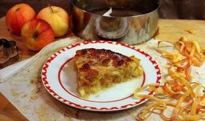 Pie tarte aux pommes
