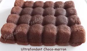 Fondant choco-marron