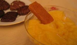 Crème dessert à la clémentine