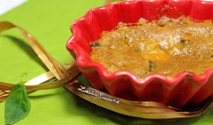 Gratin d'oranges et kumquats au basilic