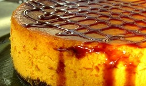 Cheesecake d'automne au potimarron