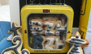 Sablés bretons aux pépites de caramel