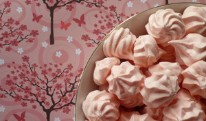 Mini meringues girly