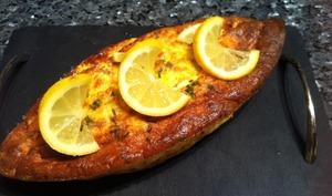 Terrine de Saumon et sa sauce citronnée