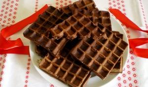 Gaufres au chocolat