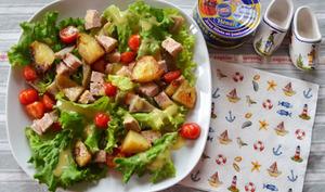 Salade bretonne au paté Hénaff