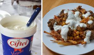 Boulettes de boulghour au yaourt et pommes de terre