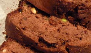 Cake au chocolat et aux fruits secs