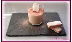Tarte au lait concentré Régilait et Biscuits roses de Reims