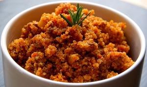 Quinoa à la bolognaise