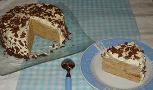 Le gâteau de crêpes