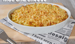 Mac and cheese deluxe