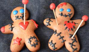 Biscuits voodoo pour Halloween