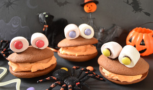 Whoopies monster pour Halloween