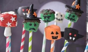 Chamallow monstres d'Halloween