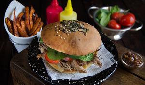 Burger au porc braisé