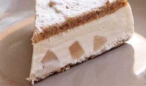 Gâteau ricotta et poires