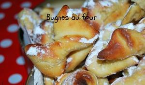 Bugnes au four