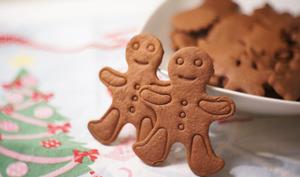 Sablés de Noël au chocolat et aux épices
