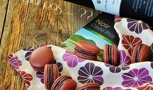 Macarons chocolat noir / porto