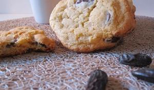 Cookies au chocolat noir et fève Tonka