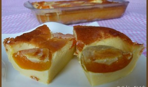 Far breton aux abricots au sirop