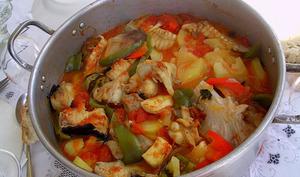 Ragoût de poisson à Póvoa de Varzim