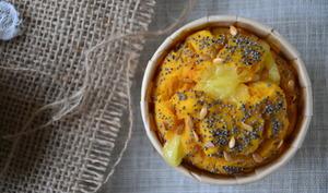 Muffins épicés aux patates douces et au comté { Sans gluten }
