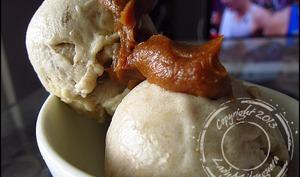 Nice cream au beurre de cacahuètes sans sorbetière