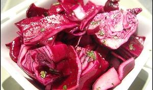 Chou rouge façon pickles de Jamie Oliver