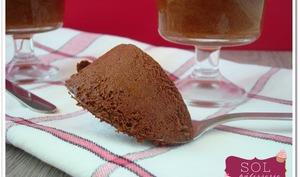 Mousse au chocolat diététique