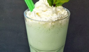 Le Milk Shake à la menthe de la St Patrick