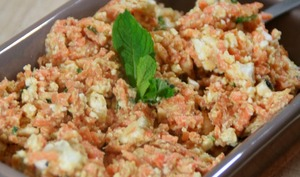 Salade de Carottes et Feta à la Menthe