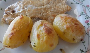 Pommes de terre cocotte