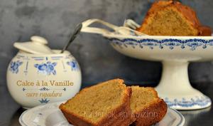 Cake à la vanille et sucre rapadura