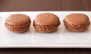 Macarons Chocolat-praliné