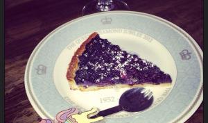 Ma tarte aux myrtilles