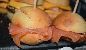 Mini Burger au saumon fumé