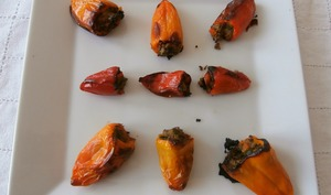 Mini poivrons farcis