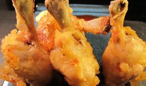 Sucettes de poulet ou chicken lolippops
