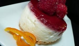Mini-cheesecakes aux framboises