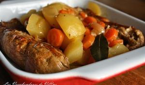 Filet mignon de porc, au cidre et aux deux pommes