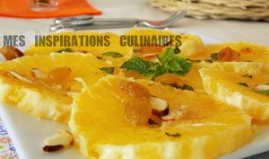 Salade a l'orange epicee