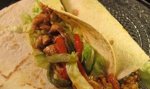 Tortilla mexicaine au poulet