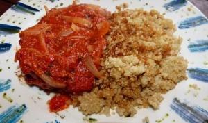 Poulet aux tomates