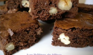 Brownies aux 2 chocolats et aux fruits secs