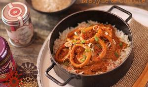 Curry d'Encornets