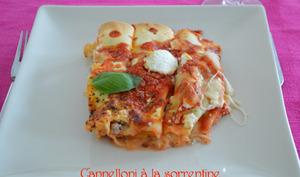 Cannelloni alla sorrentine
